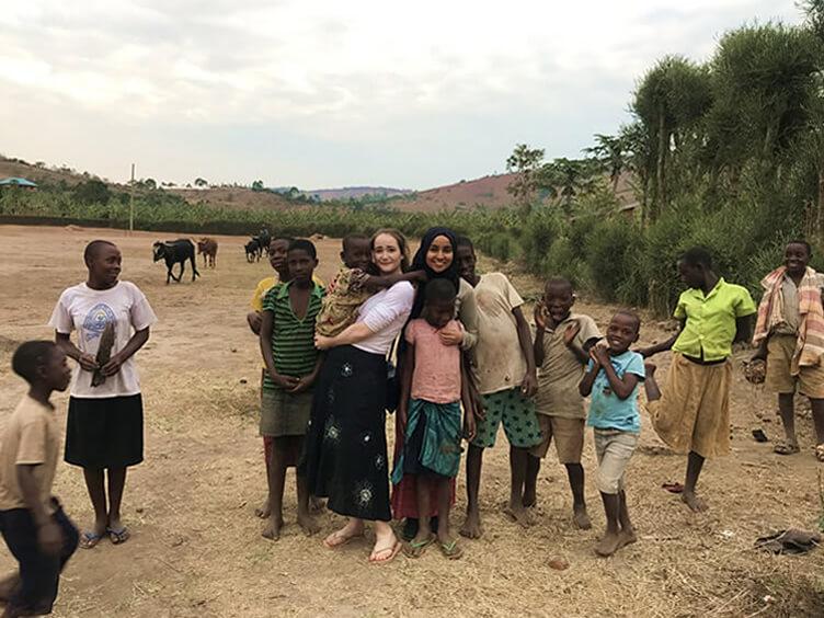 Finding joy, love and peace in Uganda